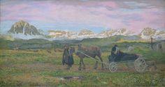 Giovanni Segantini - Returning Home