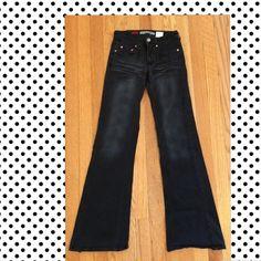 JUNIORS / SIZE 3 BLACK CORDUROY PANTS / JUNIORS / SIZE 3 BLACK CORDUROY PANTS / PARIS BLUES Paris Blues Pants Boot Cut & Flare