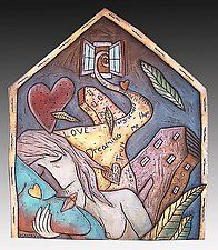 Ceramic Wall Art by David Stabley