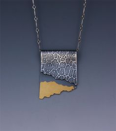 photoetched silver with keum boo - Wendy Walsh