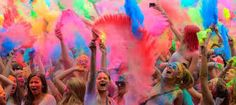 Image result for holi powder party