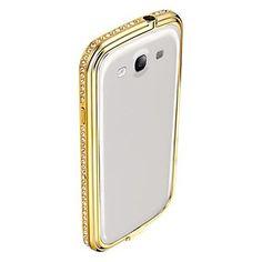 kristal diamant bumper case voor Samsung Galaxy S3 i9300 (verschillende kleuren) – EUR € 14.24