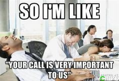 Too bad everyone hangs up on telemarketers, so we're never on the line long enough for you to say it.