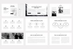 Slab-Minimal Keynote Template by Dublin_Design on @creativemarket