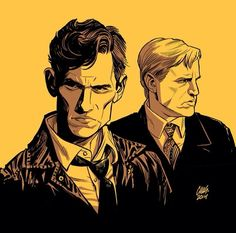 A True Detective illustration by the insanely talented Cameron Stewart
