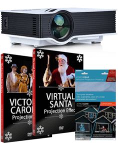 Digital Decorations & Projection Effects Including the Original Virtual Santa! – The Christmas Light Emporium