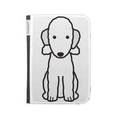 Bedlington Terrier Dog Cartoon Kindle 3 Covers