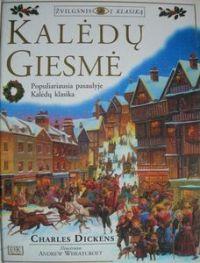 """Pirmoji perskaityta knyga.  Charles Dickens """"Kalėdų giesmė"""""""