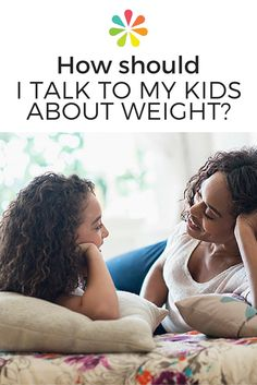 """Weight can be a sensitive topic to talk about at any age, but it shouldn't be ignored if you're concerned about your child's health. """"It is never too early for a family to make changes that will help a child keep or achieve a healthy weight."""" #childhoodobesity #kidsweight #importantconversations #everydayhealth 