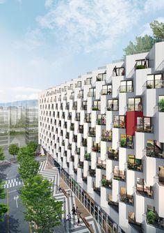 Hospital Architecture, Hotel Architecture, Futuristic Architecture, Residential Architecture, Amazing Architecture, Architecture Design, Parametric Architecture, Casa Patio, Unusual Buildings