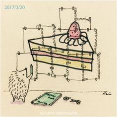 Draw a Cake Hedgie