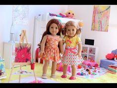 American Girl Doll Bedroom ~ Lalaloopsy/ART Room! HD Watch in HD! - YouTube