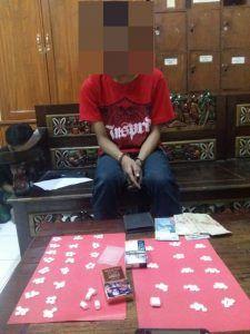 Satnarkoba Polresta Pasuruan Berhasil Tangkap Pengedar Pil Koplo