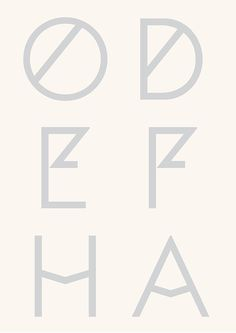 Cephalonia font, inspired by Greek engravings
