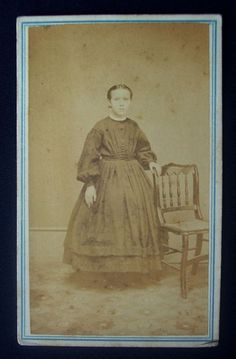 1860's Civil War CDV Photograph Tax Stamp Hollidaysburg PA Katy Vowinckel | eBay