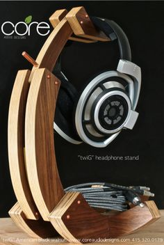 Headphone Stands | Core Audio Designs