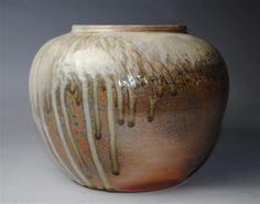 Handmade Vase Wood Fired Pottery by JohnMcCoyPottery on Etsy, $75.00