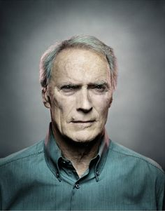 Patrick Hoelck's Clint Eastwood. Grizzled is dying out in our world...pity, it's gorgeous