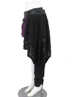 SEX POT ReVeNGe/ BLACK DOLL 2-Way Skirt.