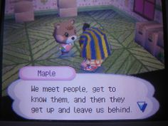 (T^T) I remember when they do this its so sad I remember crying the first time an animal left my village I was so young :')