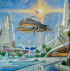 Metropolis City. Robert McCall