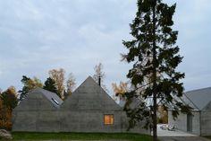DE LUNARES Y NARANJAS: Miércoles de arquitectura: una casa de verano en el…