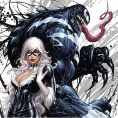 Venom and Black Cat