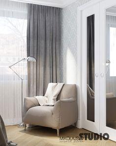 LUKSUSOWA SYPIALNIA Krakow, Curtains, House, Home Decor, Blinds, Decoration Home, Room Decor, Haus, Interior Design