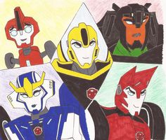 Image result for transformers robots in disguise fan art