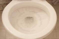 Stubborn rings appear on the inside of the toilet due to the minerals that are found in the water or rust. Finding the right toilet cleaning liquid or discs at your local supermarket is not necessary for removing these particular stains. Combining two common household products inside the toilet removes the rings and other difficult-to-clean stains....