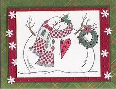 Snowman - Scrapbook.com