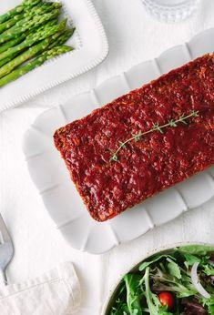 Loaf Recipes, Lentil Recipes, Vegetarian Recipes, Cooking Recipes, Dinner Recipes, Healthy Recipes, Vegan Meatloaf, Good Meatloaf Recipe, Vegan Meat Recipe