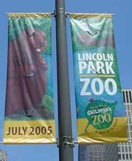 Lincoln Park Zoo Banner