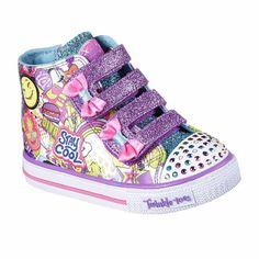 1c69658c6021d8 Skechers Twinkle Toes Shuffles Girls Sneakers - Toddler Baby Sneakers,  Girls Sneakers, High Top