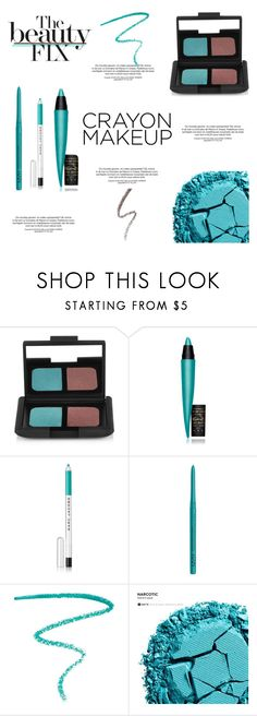 """Crayon - Inspired Makeup #54"" by viviannabas ❤ liked on Polyvore featuring beauty, NARS Cosmetics, MAC Cosmetics, Marc Jacobs, NYX and Urban Decay"