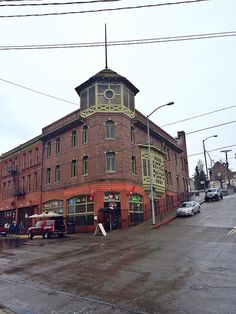 Architecture...downtown Tacoma, WA. The Swiss Restaurant.
