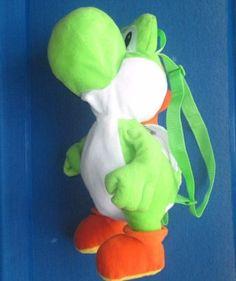 Super-Mario-Brothers-YOSHI-Doll-stuffed-plush-backpack-back-pack-17-Dinosaur