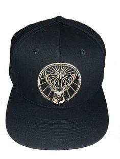 b7316fe8ff3627 Jagermeister Baseball Cap Hat adjustable snapback black large gold logo Hat  NEW #fashion #clothing