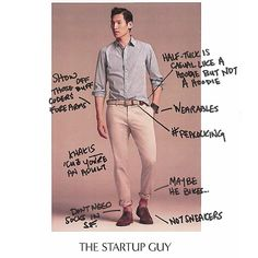"""The Annotated Guide To Banana Republic's """"Startup Guy"""" Look 