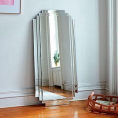 Stepped Floor Mirror