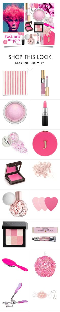 """Pink Beauty"" by jeneric2015 ❤ liked on Polyvore featuring beauty, Christian Lacroix, Yves Saint Laurent, MAC Cosmetics, Miss Selfridge, Jouer, Bare Escentuals, Sephora Collection, Bobbi Brown Cosmetics and Soap & Paper Factory"