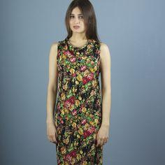 Stretchkleider - NARA ® Sommerkleid geblümt - ein Designerstück von Berlinerfashion bei DaWanda