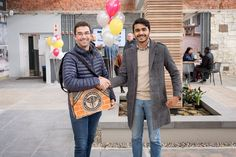 Winner of the PPC laptop bag at our new showroom launch. Patio Slabs, News Space, Paving Stones, Cladding, Laptop Bag, Showroom, Product Launch, Brand New, Cobblestone Pavers