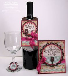 Wine tag and card