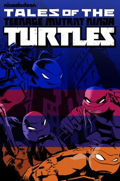 Póster de Tales of the Teenage Mutant Ninja Turtles