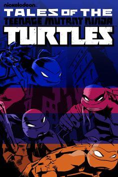 Póster de Tales of the Teenage Mutant Ninja Turtles