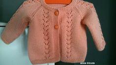 modèle tricot gilet 1 an Plus