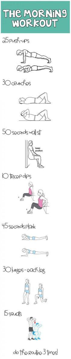 The simplest workout for your entire body.: