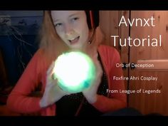 Ahri's Orb of Deception (Q) Version 1 - by AvnxtCosplay - YouTube