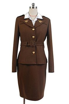 Captain America: The First Avenger Agent Peggy Carter Suit cosplay costume Cosbeatles http://www.amazon.fr/dp/B00U28E330/ref=cm_sw_r_pi_dp_PIbcwb012EP91